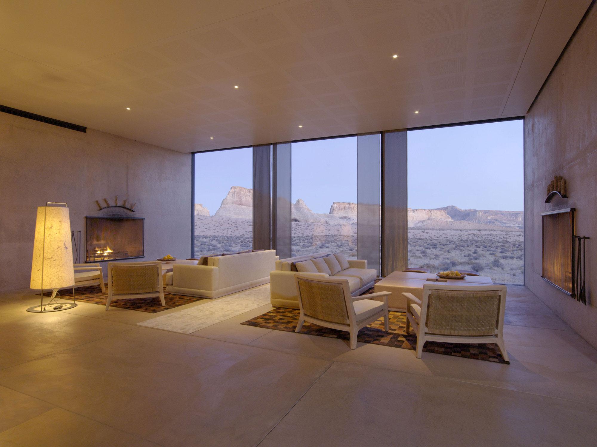 Amangiri resort gypsorb for Luxury hotel interior